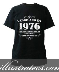 1976 manufacture t-shirt