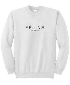 Feline Meow Sweatshirt