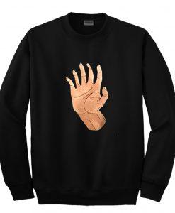Hand Sweatshirt
