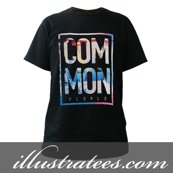 common t-shirt