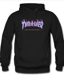 thrasher blue hoodie