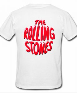 The Rolling Stones T Shirt Back
