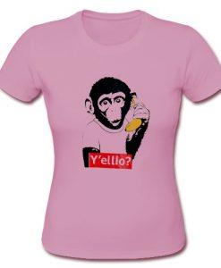 Y'elllo Monkey T Shirt
