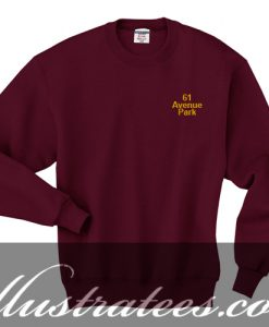 61 avenue park sweatshirt