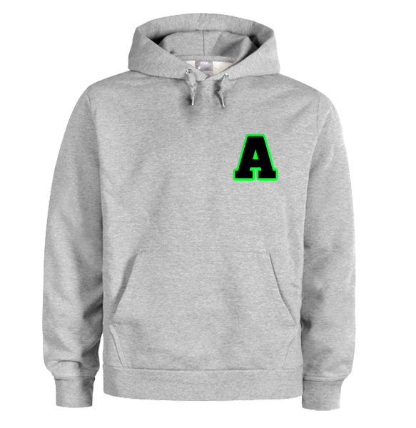 A font hoodie