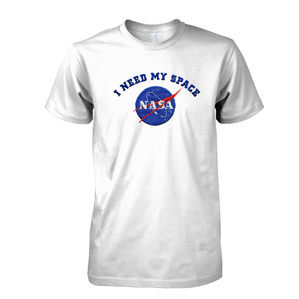 I Need My Space Nasa tshirt