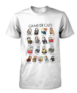 Game Of Cats tshirt