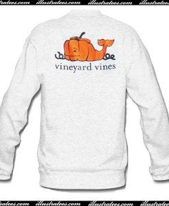 Vineyard Pumkin Pocket Sweatshirt back