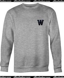 W font Sweatshirt