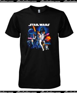 Star Wars A New Hope T Shirt