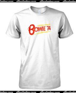 World Tour Bowie 74 T Shirt