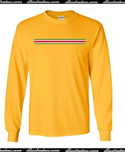 Yellow Stripe Colors Sweatshirt