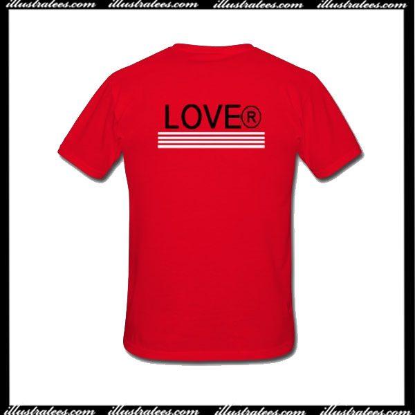 Lover T-Shirt Back