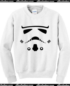 Trooper Face Sweatshirt