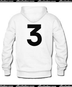 3 Hoodie Back