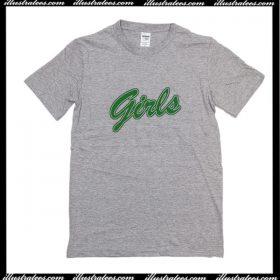 Girls Green T-Shirt