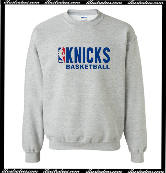dc7e7ffbf19f Knicks Basketball Sweatshirt