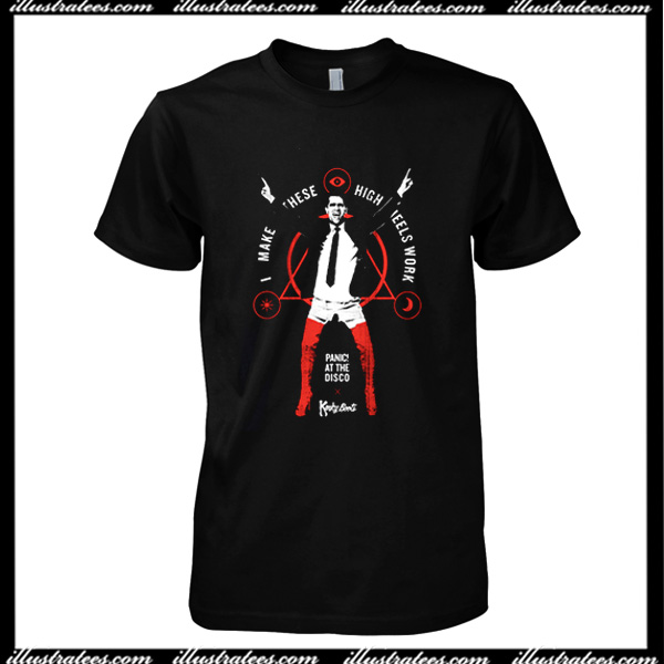 Panic At The Disco X Kinky Boots T Shirt