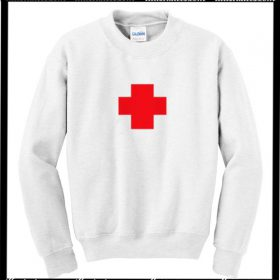 755a8f3b74f3 S Winchester 83 Sweatshirt Back. Red Cross Sweatshirt. Red Cross Sweatshirt.  Knicks Basketball Sweatshirt