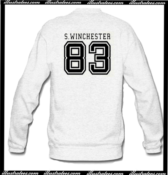 75102fb39b45 S Winchester 83 Sweatshirt Back