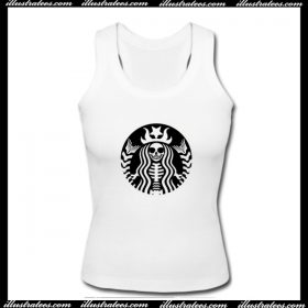 Starbucks Skeleton Tank Top