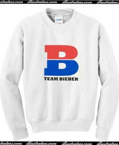 Team Bieber Sweatshirt