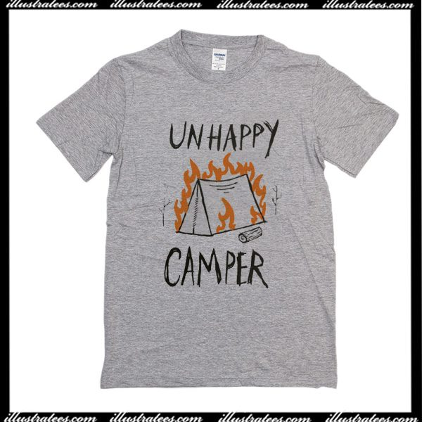 Unhappy Camper T Shirt