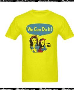 We Can Do It Feminism T-Shirt