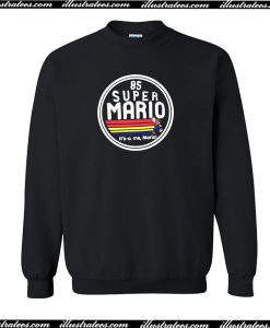 85 Super Mario It's A Me Mario! Sweatshirt