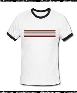 Line Rainbow Ringer Shirt