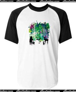Wildlife Baseball T-Shirt