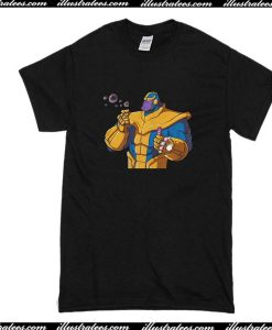 Thanos Blowing Bubbles T-Shirt