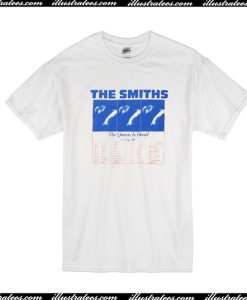 The Smiths Us Tour 86 T-Shirt