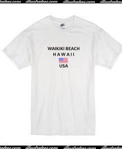 Waikiki Beach Hawaii USA T-Shirt