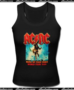 ACDC World Tour 1988 Tank Top