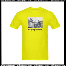 Maiden Noir Stay High Forever Classic T-Shirt