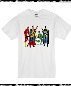 The Flash Clark Kent Batman T-Shirt
