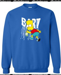 The Simpsons Bart Sweatshirt