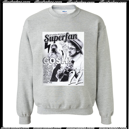 Tom Felton Superfan sweatshirt