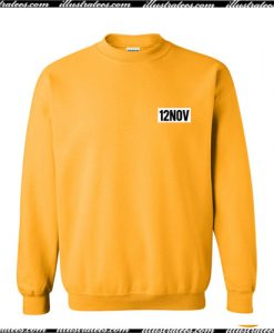 12Nov Sweatshirt