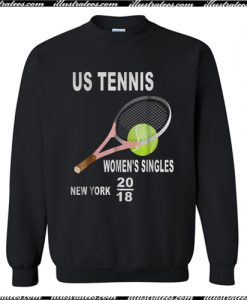 Us tennis women's singles New York 2018 Sweatshirt