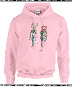 Vegetable shaped people Hoodie