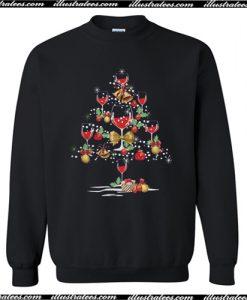 Wine Christmas Sweatshirt