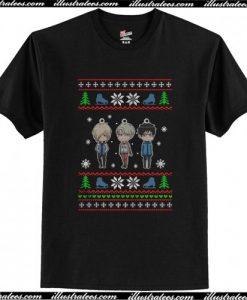Yuri on Ice Christmas T Shirt