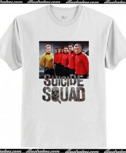 Star Trek Red Suicide Squad T Shirt