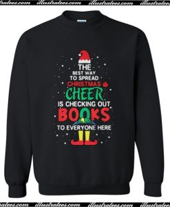 The best way to spread Christms cheer is checking out books toTShirt
