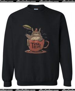 Totoro tea Sweatshirt