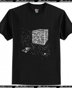 We are the borg Resistance is Futile space qr code T-Shirt Ap