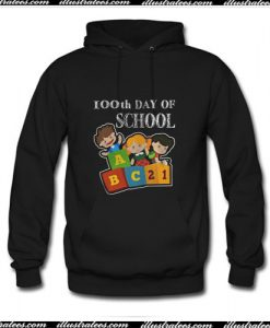 100th Day Of School Hoodie Ap