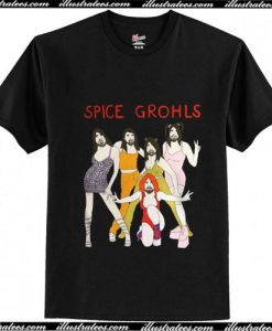 Spice Grohls Girls Dave Music T-Shirt Ap